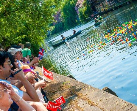 Norwich Duck Race 2013