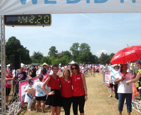 Heart Angels at Oxford Race for Life