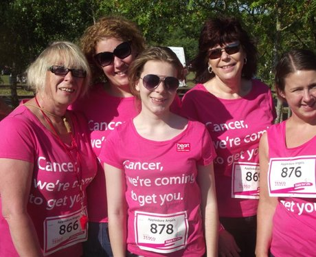 Race For Life Street - Pre Race