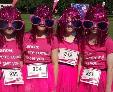 Race for Life Taunton - Pre Race