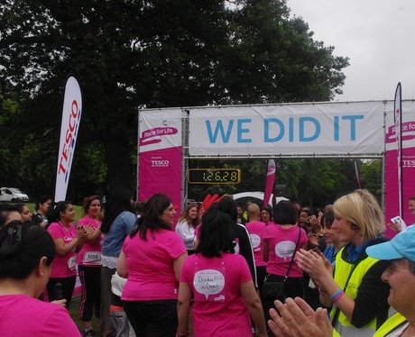 Finish Line Action at Canon Hill Park