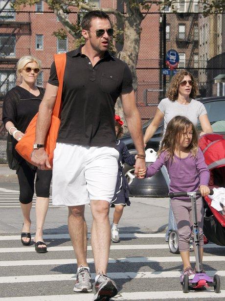 Hugh Jackman and daughter Ava