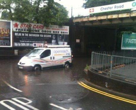 West Midlands Thunderstrorm