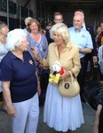 Camilla meets the lifeboat crew