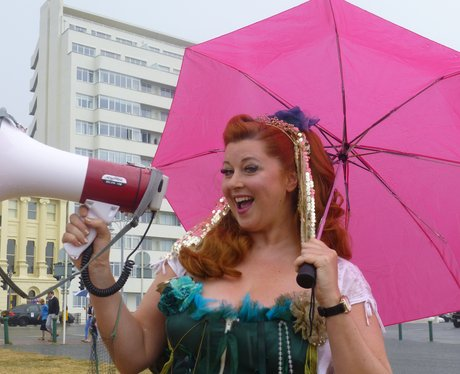 Were you at the 'March Of The Mermaids' on Hove la