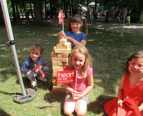 Did you see the Heart Angels at the 'Go Ape' launc
