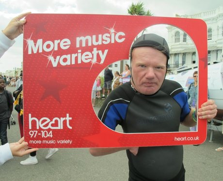 Did you have your photo taken with the Heart Angel