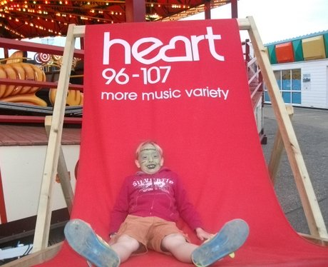 Pleasure Beach Deckchair of Dosh Sat 10th Aug
