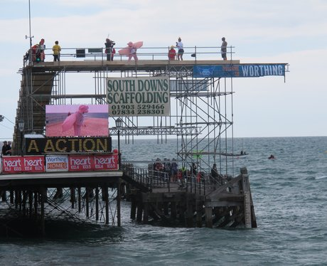 Did you see the Heart Angels at Worthing Birdman?