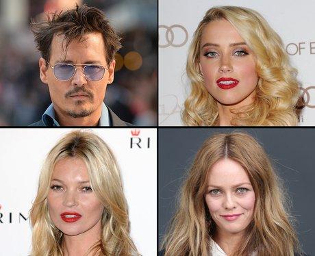 Johnny Depp's girlfriends