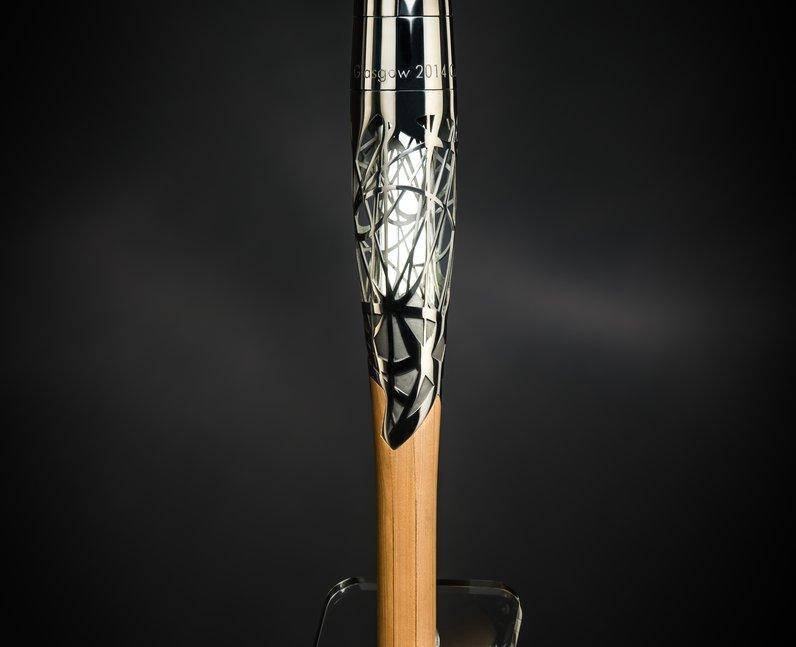 Commonwealth baton glasgow
