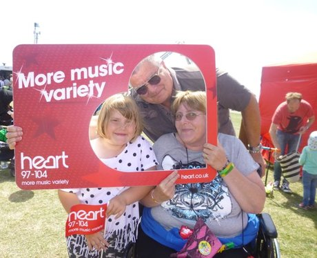 If you saw the Heart Angels at the Hove 999 Fun Da
