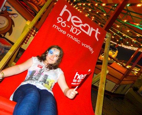 Pleasure Beach Deckchair of Dosh Sat 24th Aug