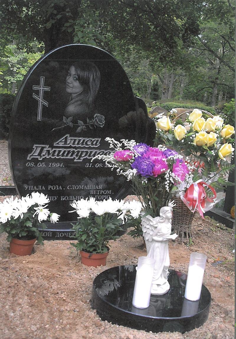 Alisa Dmitrijeva grave
