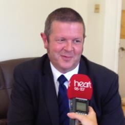 Cambridgeshire County Council Leader Martin Curtis