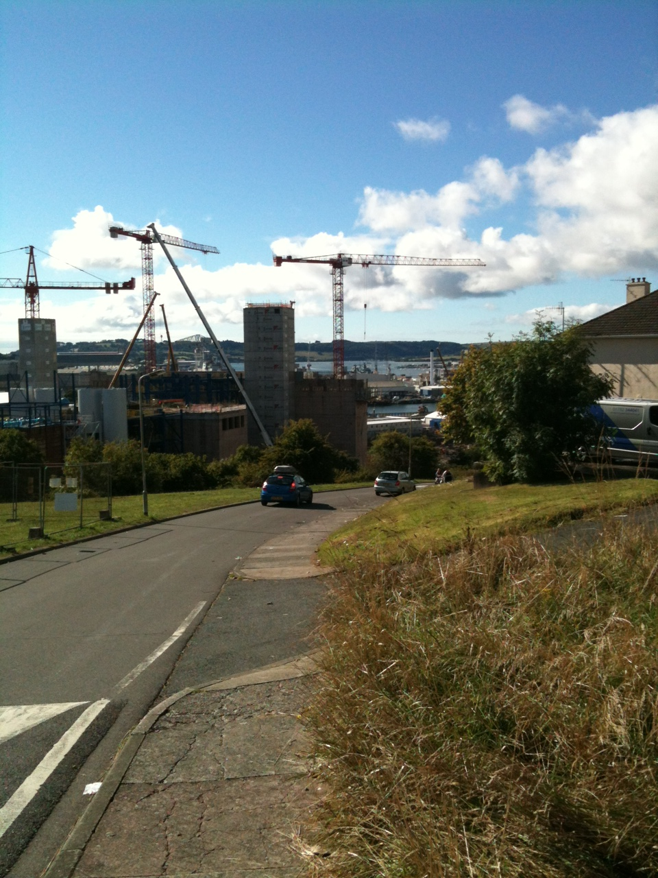 plymouth docks seen from savage road, barne barton