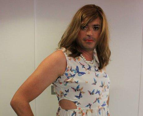 Jamie in dress