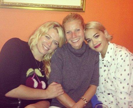 Rita Ora and Gwyneth Paltrow