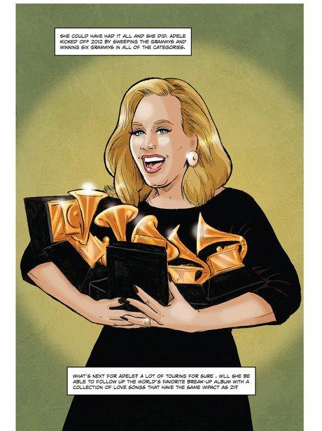 Adele Comic Book