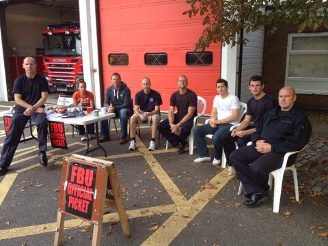 Ely Firefighters Strike