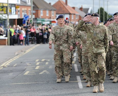 Didcot Soldiers Medal Ceremony