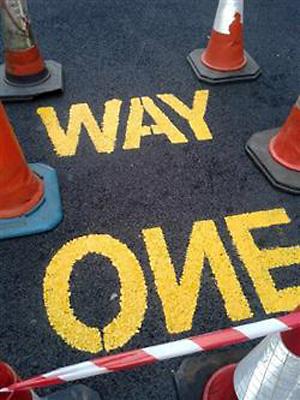 One Way Backways