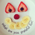Image 5: A funny fruit face