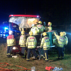 St Neots Coach Crash