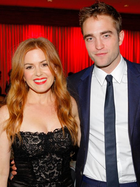 Robert Pattinson and Isla Fisher at the Annual Aus