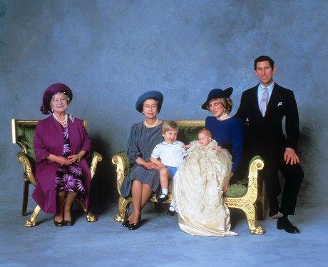 prince harry's christening
