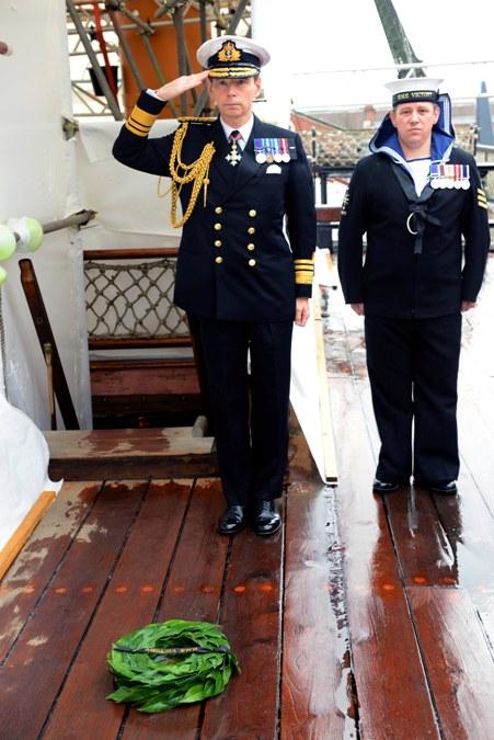 Trafalgar Day on HMS Victory