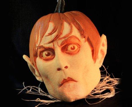 Halloween pumpkins Johnny Depp