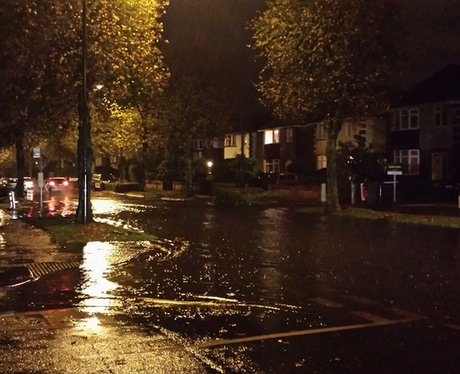 Flooding in Bournemouth
