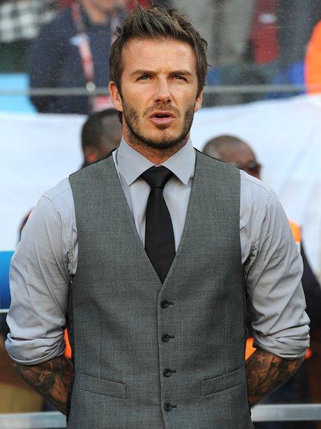 David Beckham waistcoat