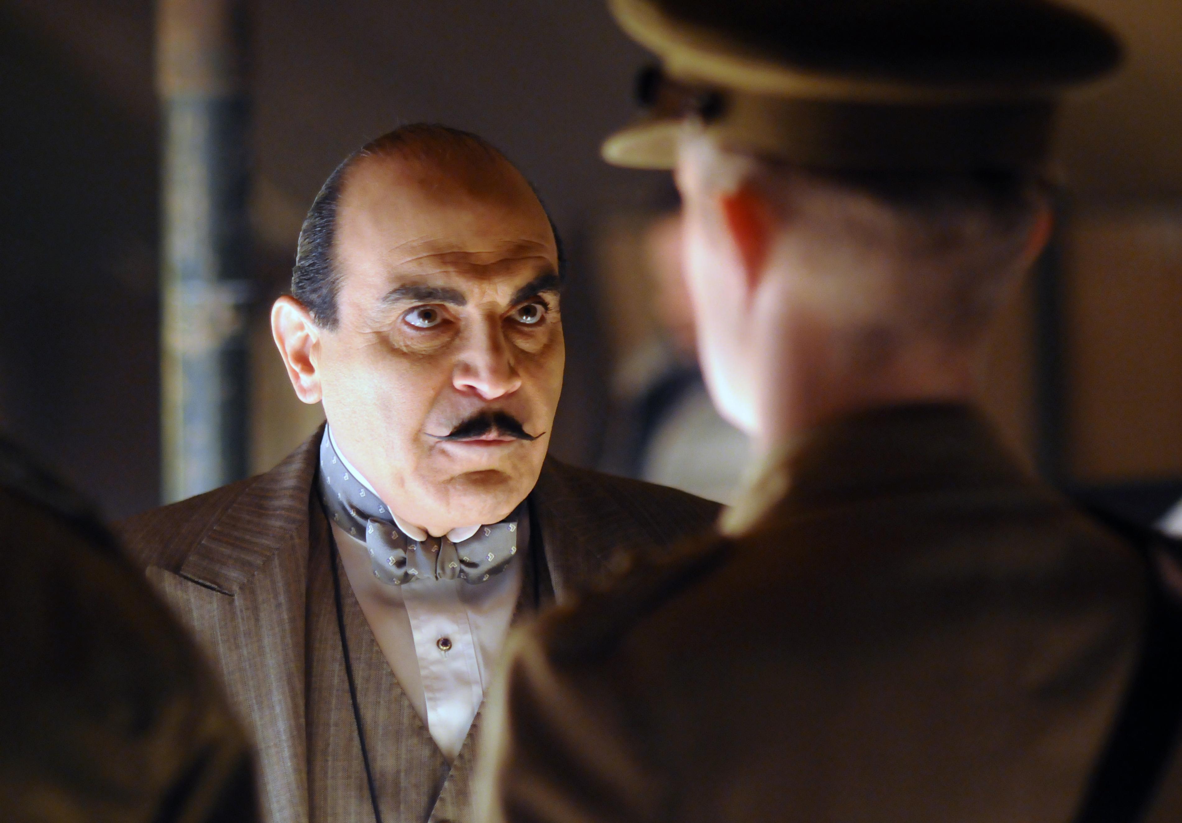 David Suchet Poirot