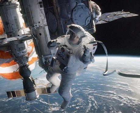 Sandra Bullock as an astronaught in 'Gravity'