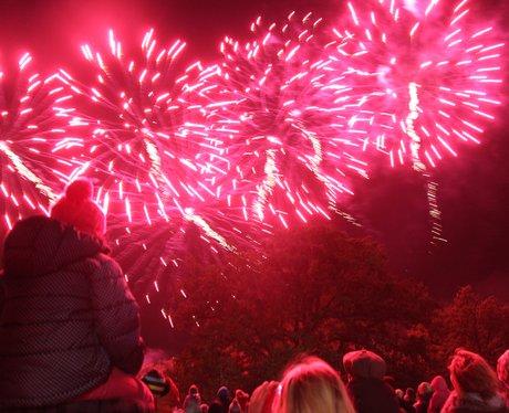 Ipswich Fireworks 2013