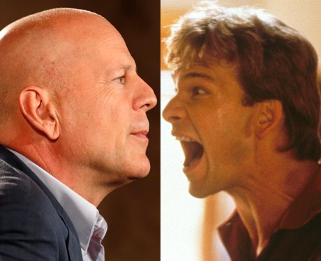Bruce Willis and Patrick Swayze