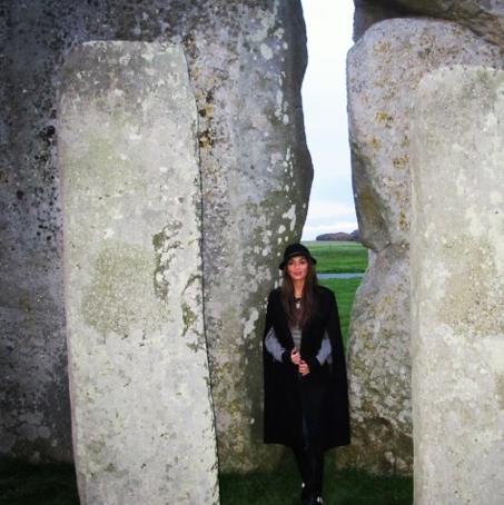 Nicole Scherzinger Stonehenge