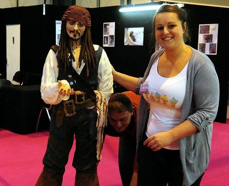 A captain Jack Sparrow cake