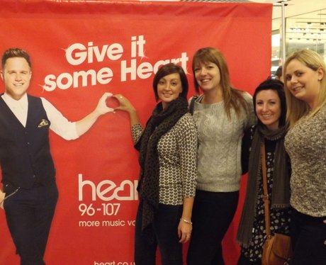 Give it Some Heart - Westfield Stratford 17/11/13