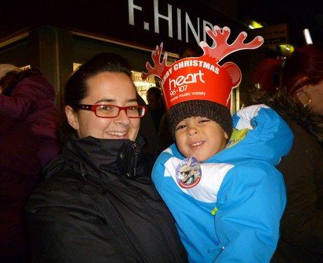 Heart Angels: Gillingham Christmas Light Switch On