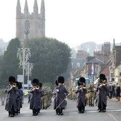 45 Company parade in Marlborough_3