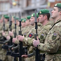 45 Company parade in Marlborough_4