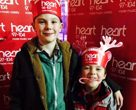 The Heart Angels headed to the Royal Pavilion Ice