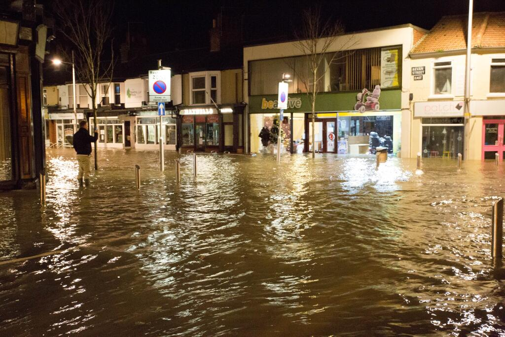 Bevan Street Lowestoft Flood - Richie Reeder