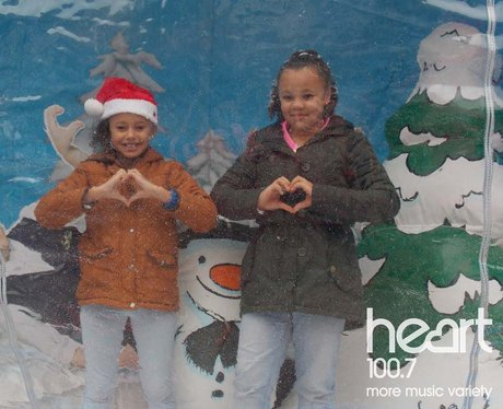 ive it some Heart - Snow Globe Family Day at the B