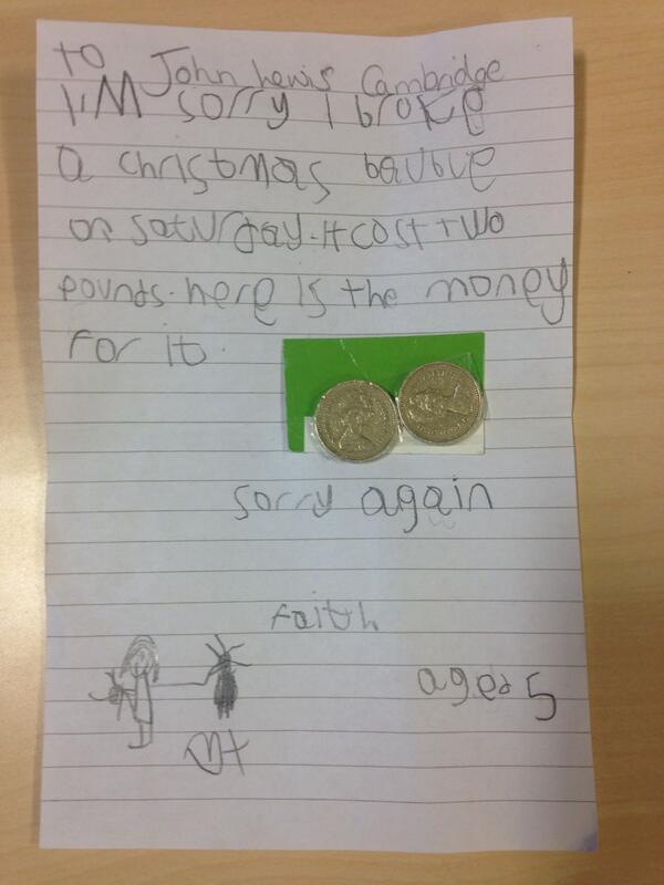 John Lewis Letter