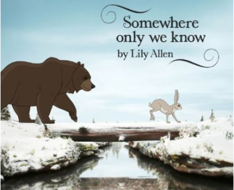 Lily Allen 'Somewhere Only We Know'