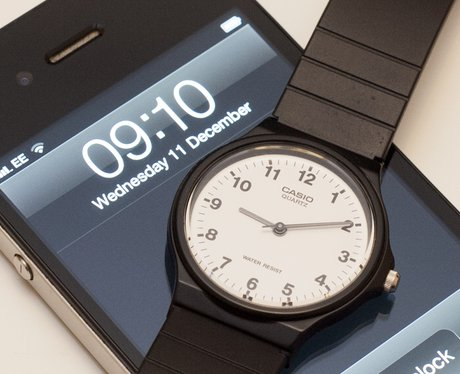 watch and mobile phone